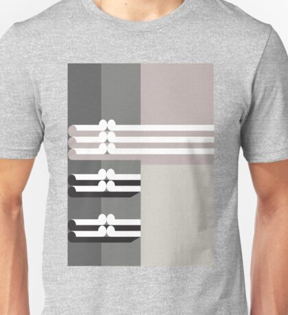 THE DIM- abstract geometry - plate 2 Unisex T-Shirt