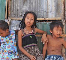 village children by sarcalder