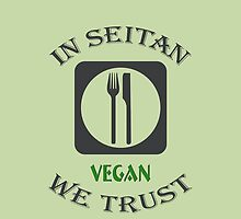 IN SEITAN WE TRUST by fuxart