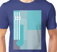 THE CLOSE - abstract geometry - plate 5 Unisex T-Shirt