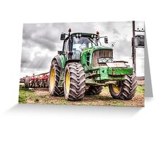 Tractor 2 Greeting Card