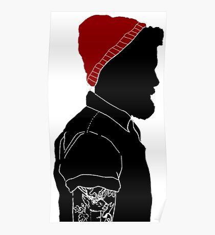 Black Man Poster
