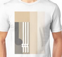 GRAVITY   - abstract geometry - plate 8 Unisex T-Shirt