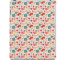 Birds, Flowers and Butterflies iPad Case/Skin