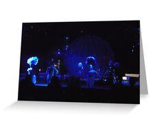 Circus/Motor Cycle Act  -(150413)- Digital photo/FujiFilm AX350 Greeting Card
