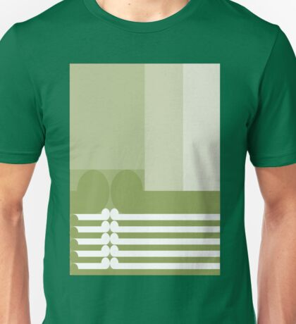 FAMILY TIES  #2  - abstract geometry - plate 11 Unisex T-Shirt