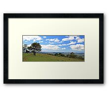 George's view Framed Print