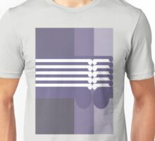 THE FALL FROM GRACE  - abstract geometry - plate 13 Unisex T-Shirt