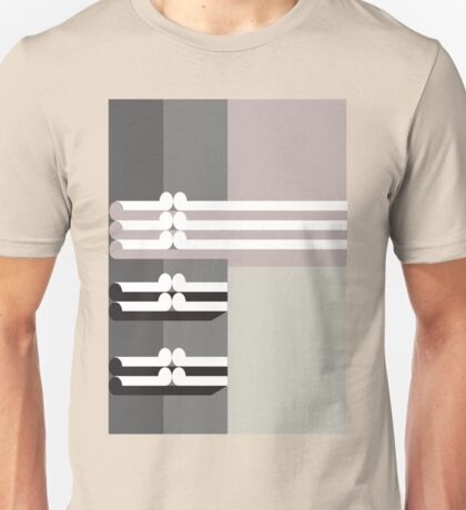THE DIM # 2  - abstract geometry - plate 14 Unisex T-Shirt