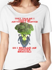 Hipster Broccoli Women's Relaxed Fit T-Shirt