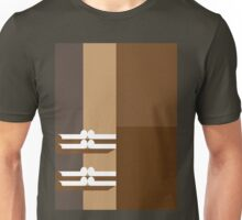 THE TAN   - abstract geometry - plate 15 Unisex T-Shirt