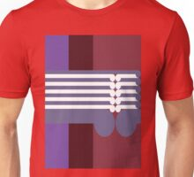 THE MIDDLE WAY  # 2 - abstract geometry - plate 17 Unisex T-Shirt