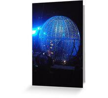 Circus/Motor Cycle Act II  -(150413)- Digital photo/FujiFilm AX350 Greeting Card
