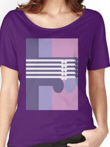 THE MIDDLE WAY  # 3 - abstract geometry - plate 18 Women's Relaxed Fit T-Shirt