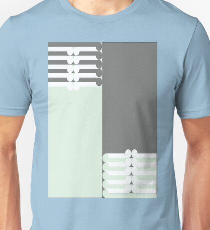 OPPOSITES - abstract geometry - plate 19 Unisex T-Shirt