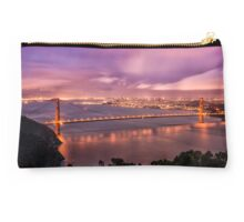 The Lights of the Bay Studio Pouch