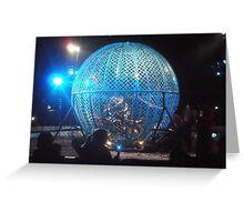 Circus/Motor Cycle Act IV  -(150413)- Digital photo/FujiFilm AX350 Greeting Card