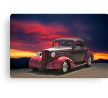1936 Chevy Coupe II Canvas Print