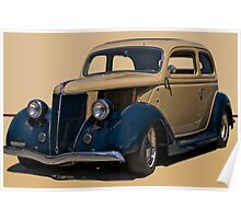 1936 Ford Tudor Sedan Poster