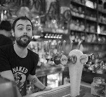 Melbourne Barman... by John Violet by Shot in the Heart of Melbourne, 2013