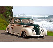 1938 Ford Tudor Sedan Photographic Print