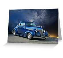 1939 Chevrolet Coupe Greeting Card
