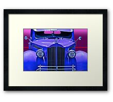 1940 Packard Grill Detail Framed Print
