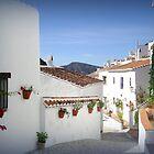 andalucian village by paul edmondson