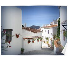 andalucian village Poster