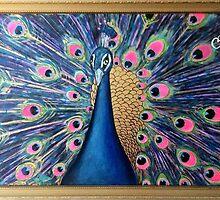 Golden Peacock by Jo Conlon