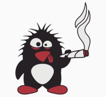 Weed Penguin by Style-O-Mat