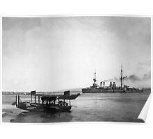 USS Mississippi 1928 Poster