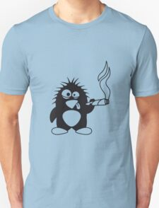 Weed Penguin T-Shirt