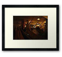 sailors' world Framed Print