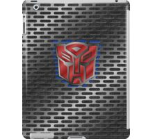 Autobot Symbol - Brushed Metal 1.0 iPad Case/Skin