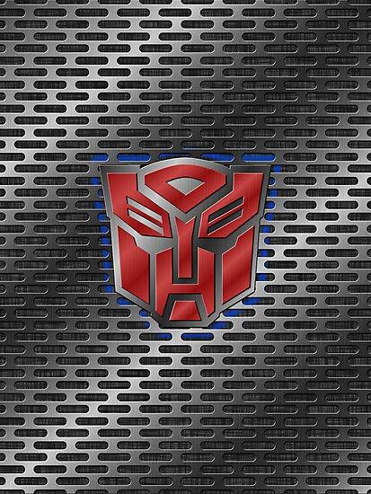 Autobot Symbol - Brushed Metal 1.0 by Jeffery Borchert