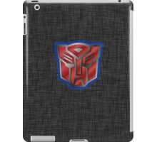 Autobot Symbol - Brushed Metal 2 iPad Case/Skin