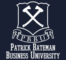 Patrick Bateman Business University by JustCarter