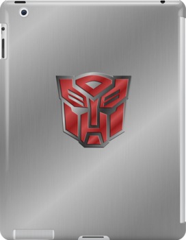 Autobot Symbol - Brushed Metal 3.0 by Jeffery Borchert