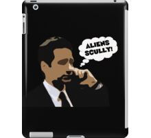 "X-Files Mulder ""Aliens Scully"" iPad Case/Skin"