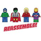 Uh Oh... REASSEMBLE! by Jonathan  Ladd