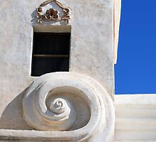 San Xavier Scroll by Allison Waibel