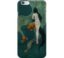 Swimming in Memories iPhone Case/Skin