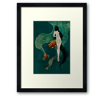 Swimming in Memories Framed Print