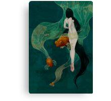 Swimming in Memories Canvas Print