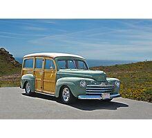 1947 Ford Woody Wagon II Photographic Print