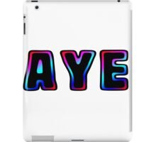 AYE design. iPad Case/Skin