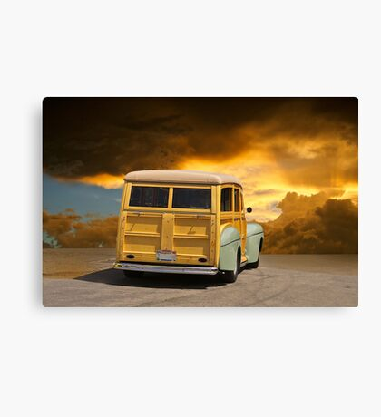 1947 Ford Woody Wagon III Canvas Print