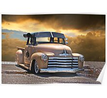 Praise the Low'rd ... 1950 Chevy Pick Up Poster