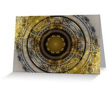 Black Gold Greeting Card